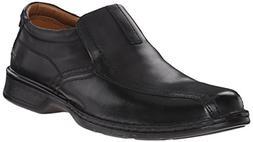 Clarks Men's Escalade Step Slip-on Loafer- Black 10.5 2E US