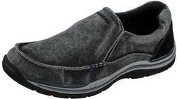 Skechers Men's Expected Avillo Relaxed-Fit Slip-On Loafer,Bl