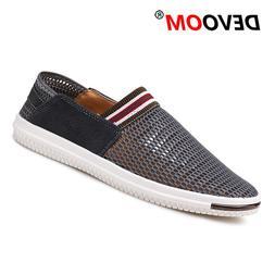 Fashion Air Mesh Shoes Summer Flying Weaven <font><b>Men's</