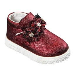 Coper Fashion Martin Shoes, Toddler Baby Girls Flower Printe