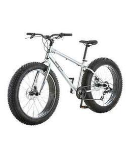 "Mongoose Men's Fat Tire Bike 26"" Beach Cruiser Malus Bicycle"