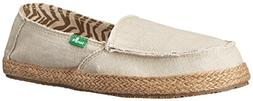 Sanuk Women's Fiona Flat, Natural, 6 M US