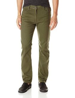 Southpole Men's Flex Stretch Basic Twill and Rinse Denim Pan