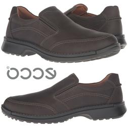 Ecco Fusion II Slip On Loafers Men's Shoes Moccasins Casual