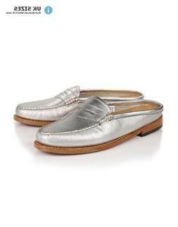 G.H. Bass & Co. Women's Weejuns Penny Wheel Slide Mule Loafe