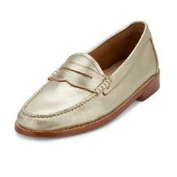 G.H. Bass & Co. Womens Whitney Genuine Leather Weejuns Penny