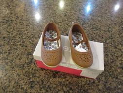Carters Girls Mana Brown Toddler Flats Shoes 6 Medium  Toddl
