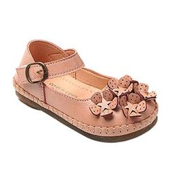 Girls Sandals FAPIZI Floral Stereoscopic Mary Jane Toddler C