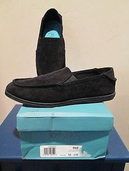 BLOWFISH GLIDER BLACK SUPERFLY CORD SLIP ON LOAFER WOMENS SH
