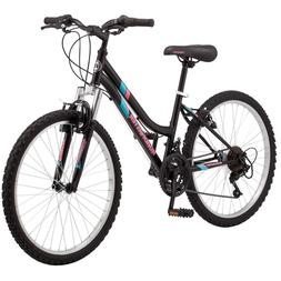 """24"""" Girl's Roadmaster Granite Peak Girl's Bike Black"""