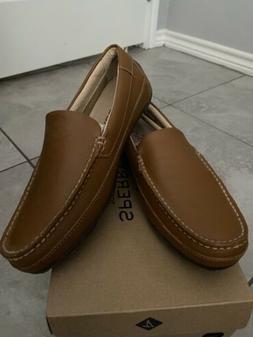 Sperry Hampden Venetian Tan Leather  Loafers Men's Size 8.5
