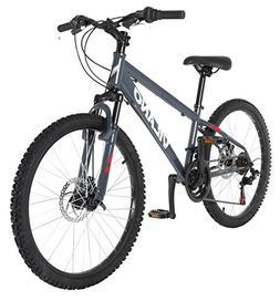 Vilano Kids 24 Inch Hardtail Mountain Bike with 21 Speed Shi