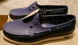 howard slip on rubber loafers boat shoes