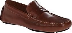Cole Haan Men's Howland Penny Loafer, Saddle Tan, 12 M US
