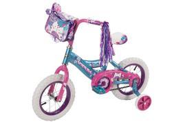 "12"" Huffy Petal Power Girls' Bike, Ages 3-5, Height 37-42"""