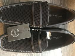 Bruno Marc New York Hugh Loafers Boat Shoes Sz 9.5 coffee-ne