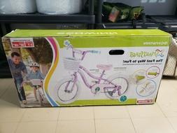 Schwinn Jasmine Girls Bike with Training Wheels 16-Inch Whee