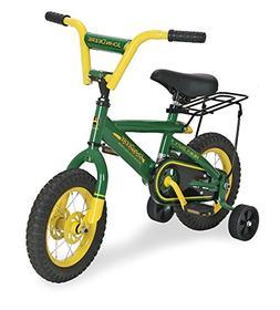 """TOMY John Deere Heavy Duty 12"""" Bicycle"""