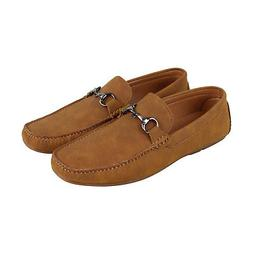 Kenneth Cole Unlisted Ian Driver B Mens Brown Suede Slip On