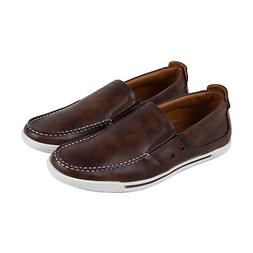 Kenneth Cole Unlisted Press Loafer Mens Brown Leather Slip O