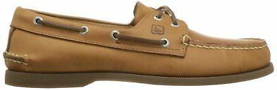 Sperry Eye Boat Shoe,Sahara,10W