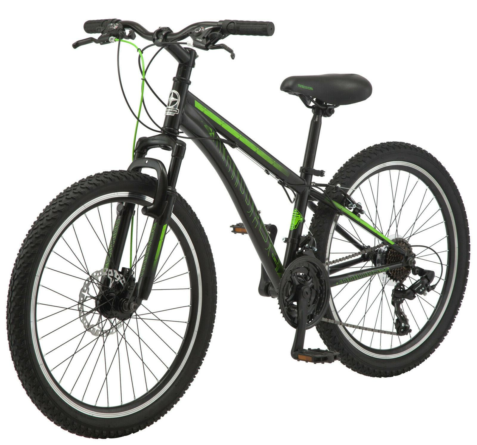 "26"" Huffy Mens' Nighthawk Mountain Bike, Black"