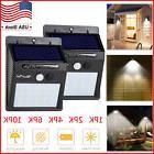 20 LED Solar Lights Motion Sensor Wall Light Outdoor Waterpr