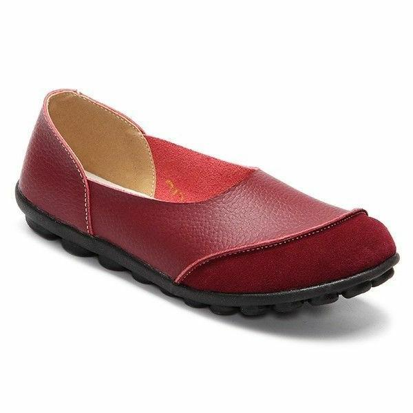 2018 New Fashion Loafers Shoes Women Casual Flats Comfort Wo