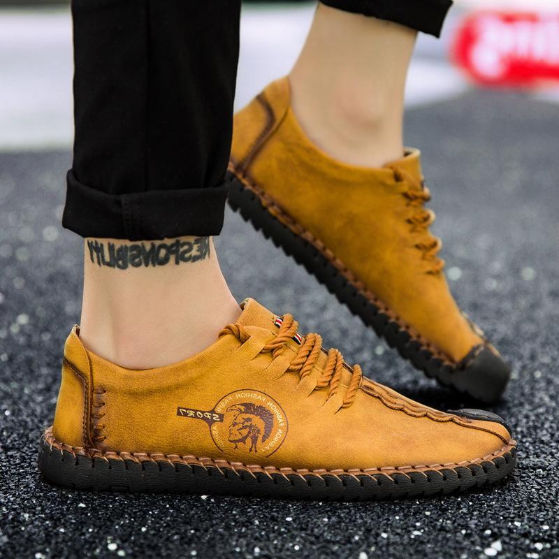2019 New size 38-48 Casual Shoes male <font><b>Men</b></font> Shoes Quality Shoes <font><b>Men</b></font> Flats Moccasins Shoes