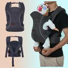 3 In 1 Infant Baby Carrier Ergonomic Breathable Wrap Sling B