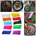 36Pcs Motorcycle Bike Wheel Spoke Wraps Rims Skin Cover Prot