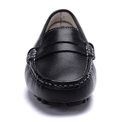 SUNROLAN Genuine Penny Driving Boat Flats Shoes US9.5