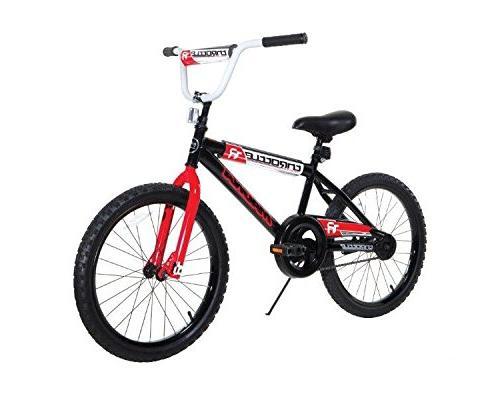 "Dynacraft Magna Throttle Boys BMX Street/Dirt Bike 20"", Blac"