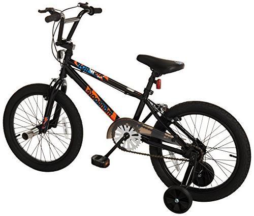 Mongoose Switch Freestyle BMX Bike with Wheels,