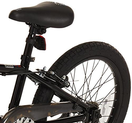 Mongoose BMX Bike with Wheels, 18-Inch
