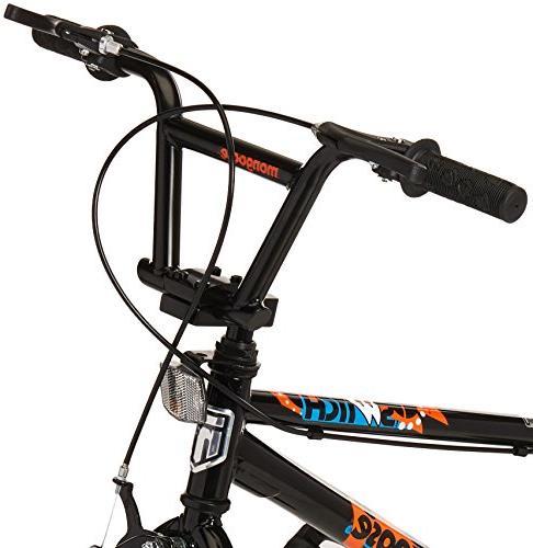 Mongoose Boy's BMX Training Wheels, Wheels, Black