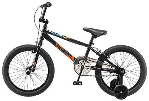 Mongoose Switch Boy's BMX Bike with Training Wheels,