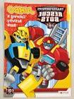 NEW Transformers Rescue Bots Jumbo Coloring & Activity Book
