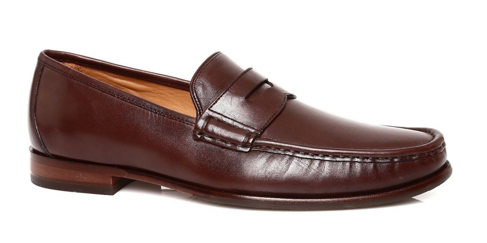 Cole Haan Aiden Grand II Men's Brown Leather Penny Loafer Sz