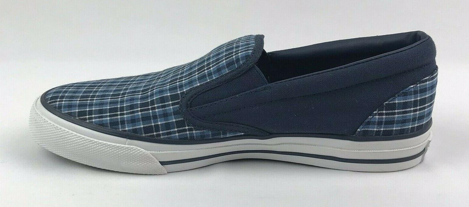 Converse All 10 W Blue Plaid Shoes