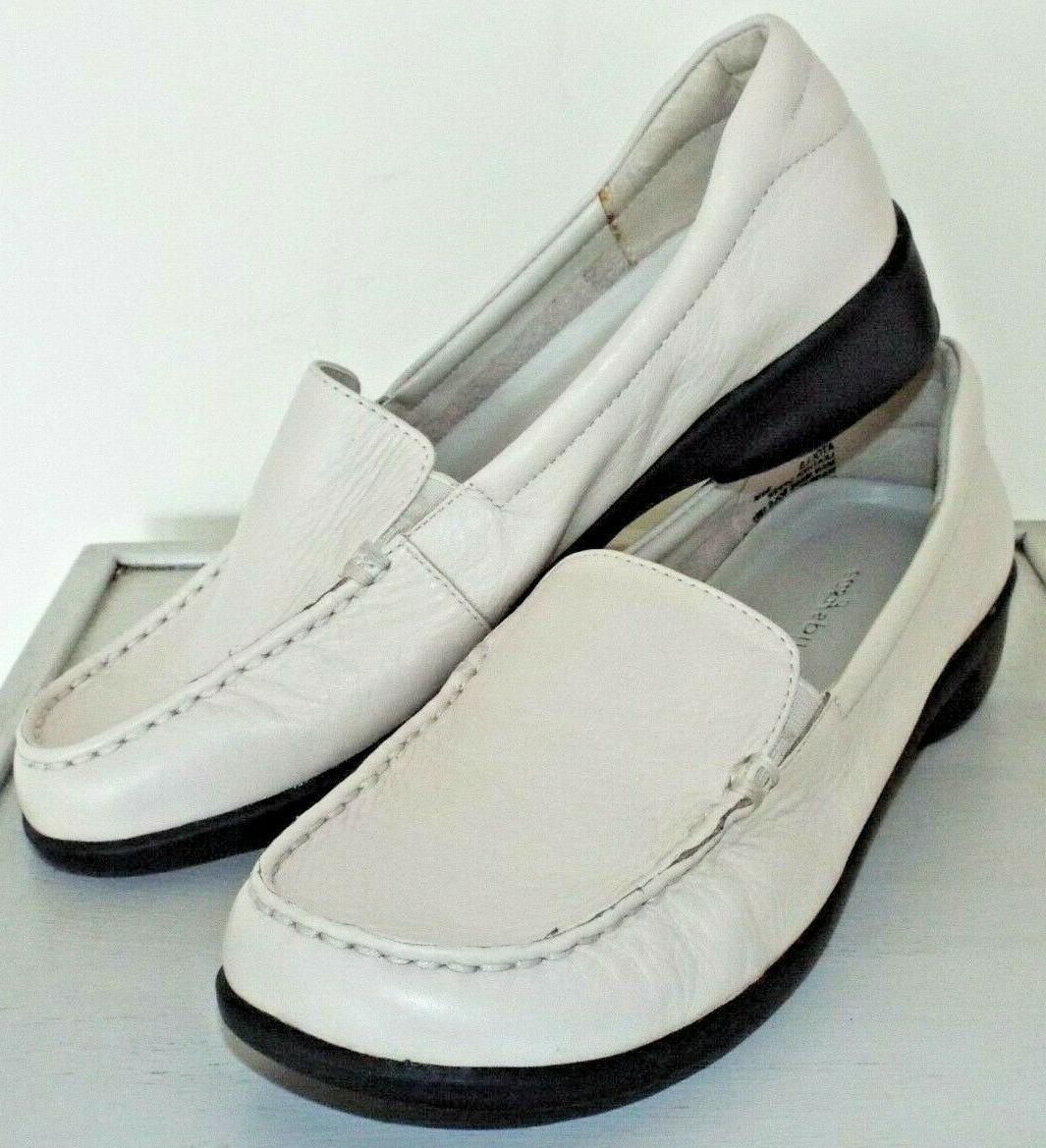 Easy Spirit Atolls Leather Loafer Comfort Shoes 6.5M