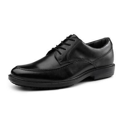 authority suregrip mens black loafers