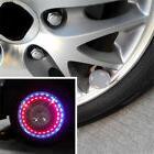 Auto Car Bike LED Flash Solar Wheel Tire Tyre Valve Cap Ligh