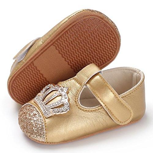 Baby Infant Boys Girls Shoe Crib Soft