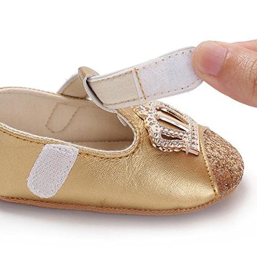 Baby Shoe,EnjoCho Infant Boys Girls Crown Soft