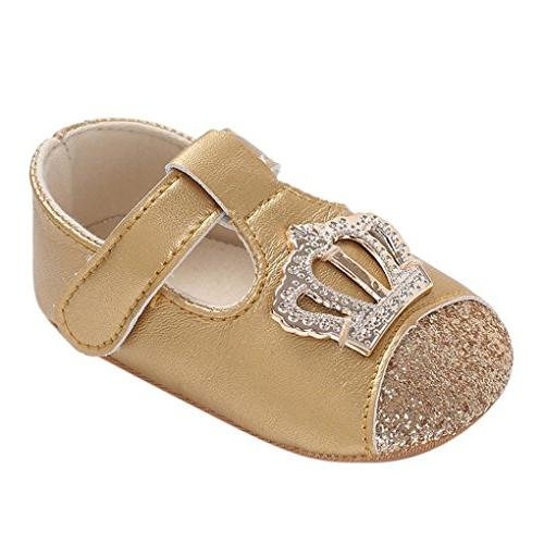 baby shoe infant newborn boys girls crown