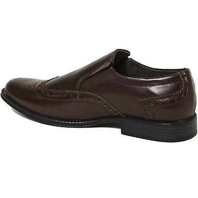 Alpine Swiss Wing Tip Shoes Brogue Loafers