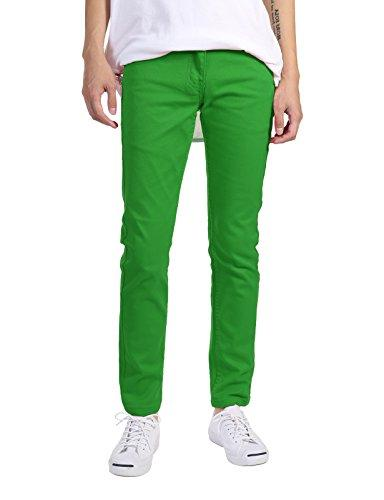 basic casual skinny fit twill