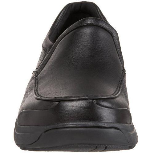 Dunham Slip On,Black,10.5 2E US