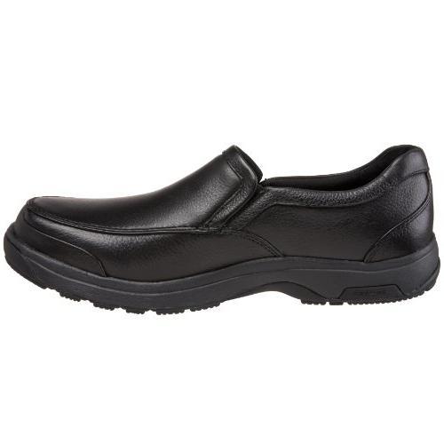 Dunham Park Slip On,Black,10.5